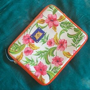 JUICY COUTURE floral tropical tablet case